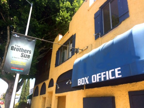 box office front