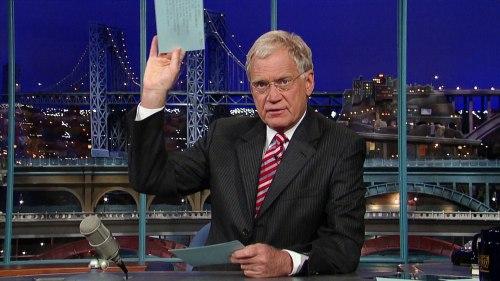 Letterman top ten