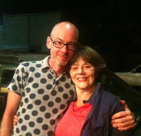 Fred Herko biographer Gerard Forde and Deborah Lawlor