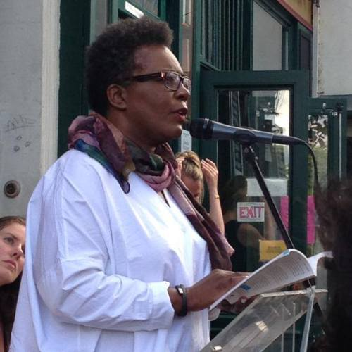 Claudia Rankine reads at Shakespeare & Company, Paris.