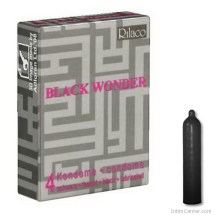 Rilaco fekete óvszer, 4 db