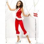 Santa Lady, szívdöglesztő mikulásruha szett