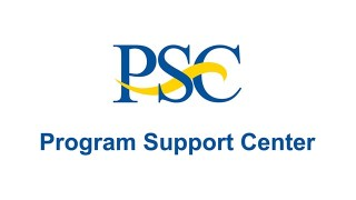 PSC Program Support Center Logo Image