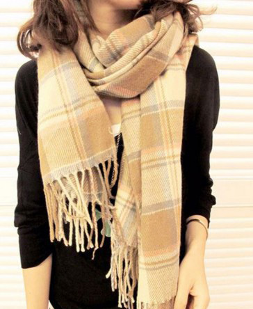 冬日圍巾不敗單品熱潮!女孩必學六種時尚圍巾打法 | 樂天市場購物網