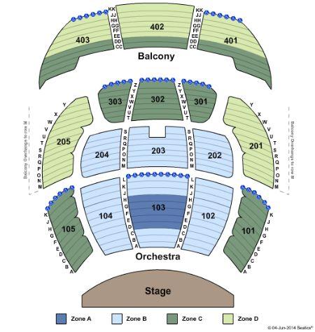 Zarkana seating chart best seat 2018