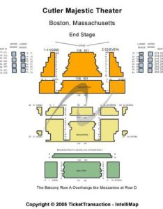 Cutler majestic theatre also tickets and seating rh stub