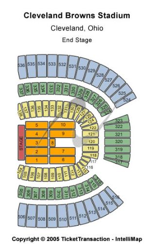 Firstenergy Stadium Concert Seating Chart - Best Picture