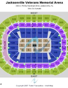 Jacksonville veterans memorial arena tickets and seating chart buy also rh stub