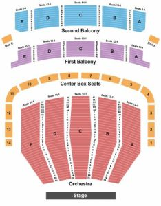 Keller auditorium also tickets and seating chart buy rh stub