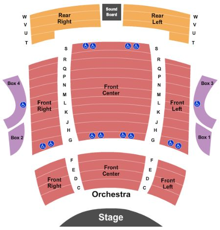 Kennedy Center Seating Chart Arenda Stroy