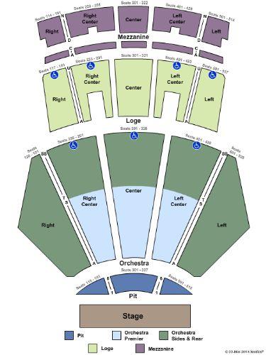 Nokia Theater Seating Chart View Ofertasvuelo