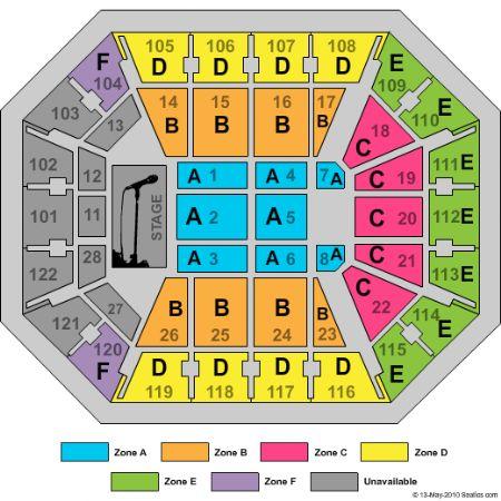 Mohegan Sun Arena Floor Plan Viewfloorco