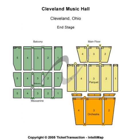 Music Hall Cleveland Oh Seating Chart Brokeasshome Com