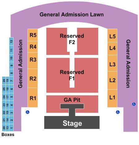 Denny Sanford Seating Chart