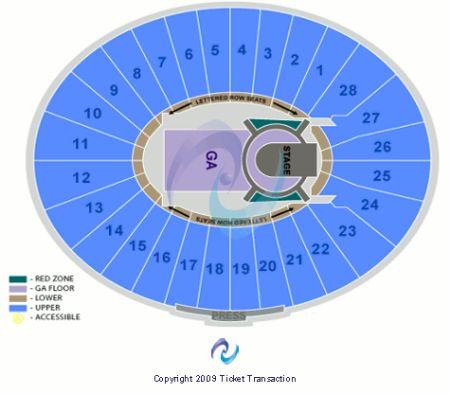 Amazing Rose Bowl Pasadena Seating Chart Concert Elcho Table