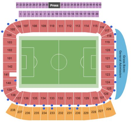 Stubhub Center Carson Seating Chart Arenda Stroy