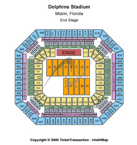 Sun Life Stadium Tickets and Sun Life Stadium Seating
