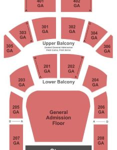 The tabernacle also tickets and seating chart buy rh stub