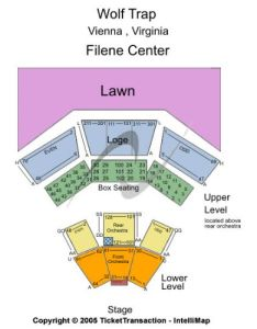 Wolf trap also tickets and seating chart buy vienna rh stub
