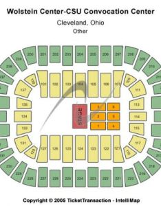 Venue map end stage capacity   wolstein center csu convocation tickets also and rh stub