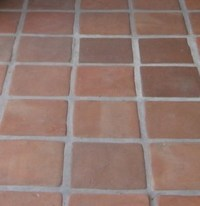 Caring For Tile Floors. Trendy Cleaning The Grout In ...