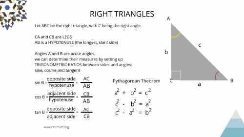 small resolution of Lesson 5: Right Triangle Trigonometry. Trig ratios - IntoMath