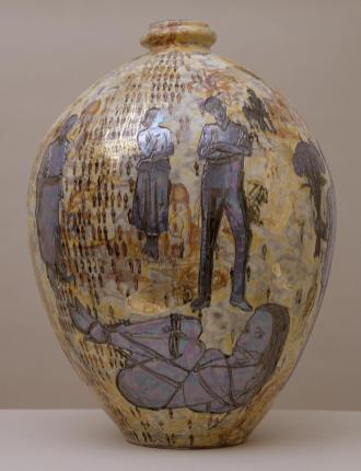 Aspects of Myself 2001 Grayson Perry born 1960 Purchased from Laurent Delaye Gallery with assistance from David and Janice Blackburn 2002 http://www.tate.org.uk/art/work/T07904
