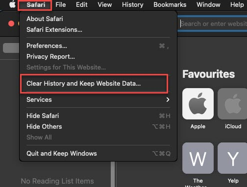How to Clear Search History on Safari on macOS Big Sur in 2021