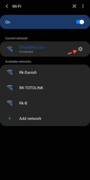 How to Share WiFi via QR Code on Samsung Galaxy S10, S9, Note 10 etc