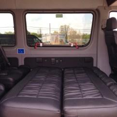 Bed Over Sofa Salon Waiting Mercedes-benz Sprinter 170wb Pas