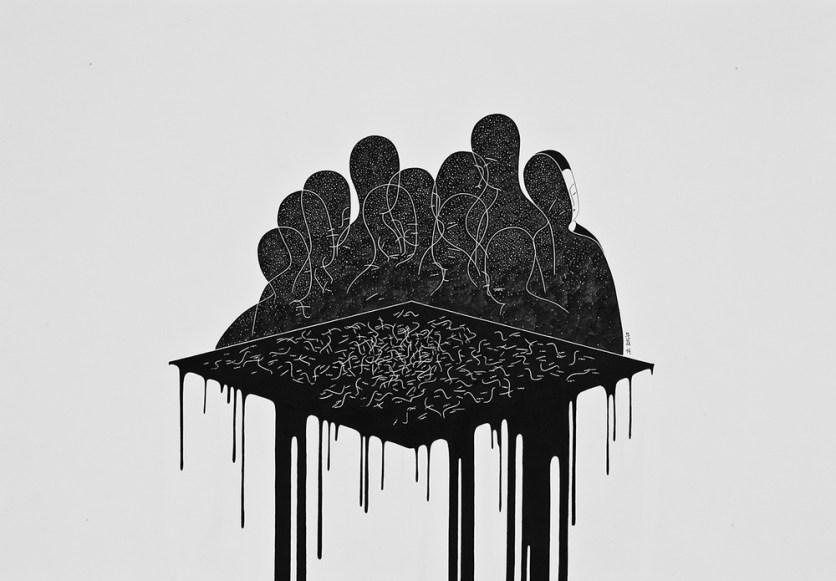 Loose Yourself in the Dark © Daehyun Kim