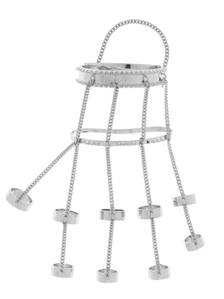 Jewel of the day: Eddie Borgo Jacket Silver Plated Finger