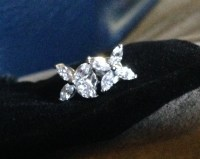 Jewel of the day: Tiffany Victoria Diamond Earrings ...