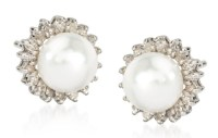 Jewel of the day: Ross-Simons Cultured Pearl and Diamonds ...