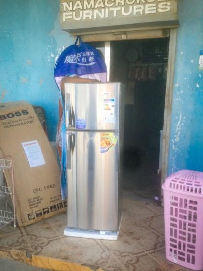Kühlschrank beim XXL Lutz von Lindi