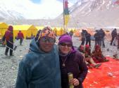 Tarki Sherpa and Edita (Beers) :-)