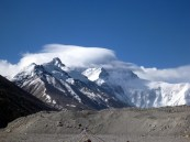 Jet Stream over Everest