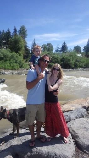 Loren, Kelly and Mav