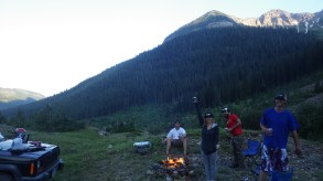 Camping at Daisy pass, Crested Butte CO