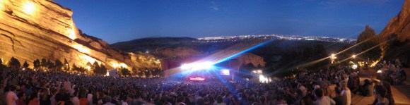 Rodrigo y Gabriela at Red Rocks.