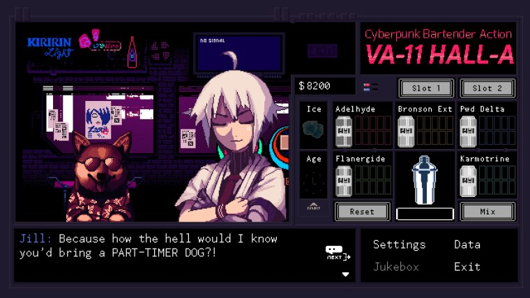 VA-11 HALL-A Switch PS4 2