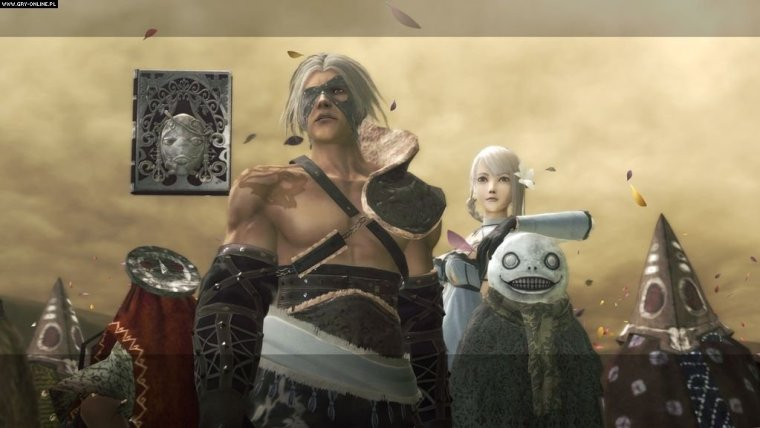 Nier Fatherhood and Sacrifice 2