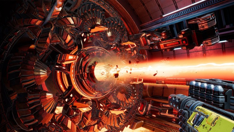 mothergunship review into the spine 5