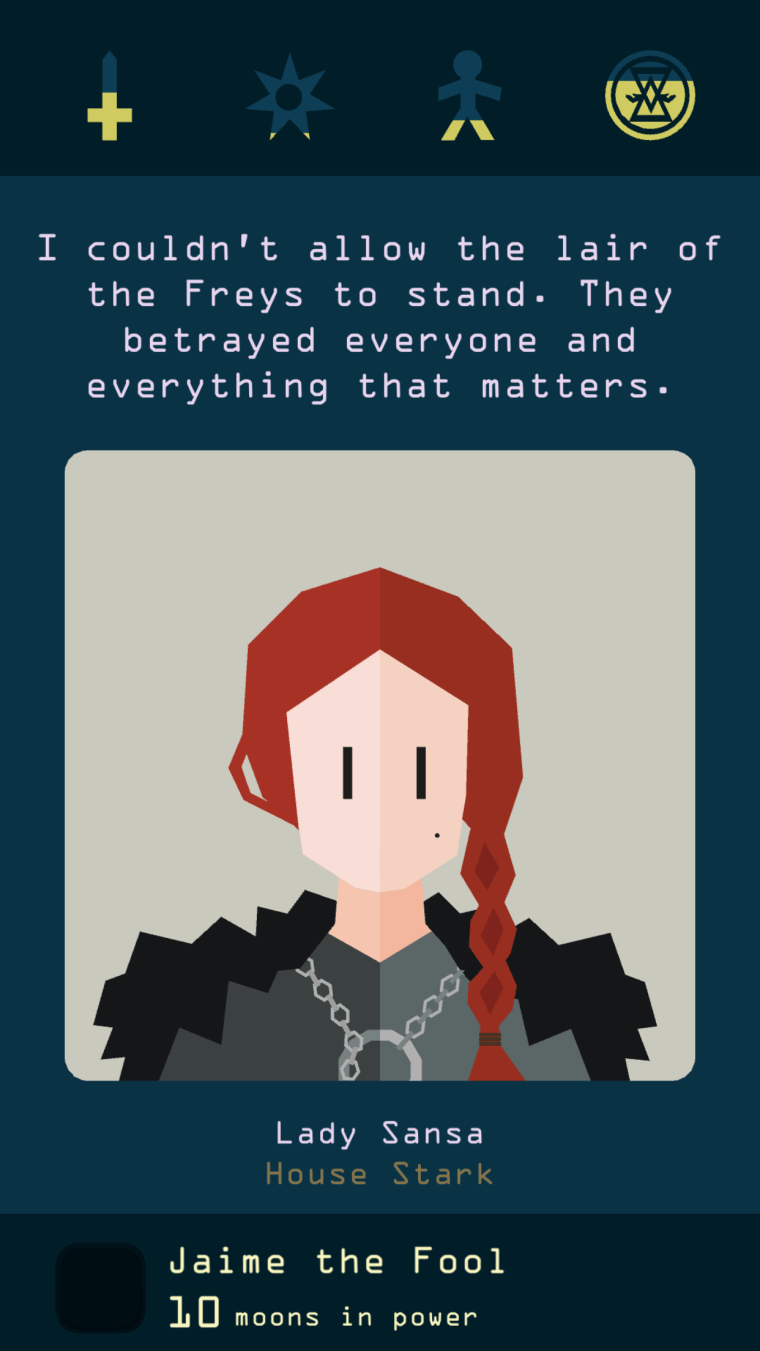 Reigns Game of Thrones Review Into The Spine 8