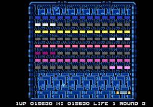 Arkanoid Atari 8-bit Level 3