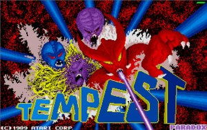 Atari ST Tempest Title Screen