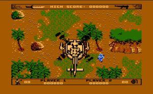 Commando Dropoff Screen Atari XEGS