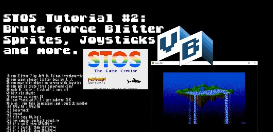 STOS Blitter Tutorial #2