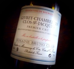 Clos Saint Jacques Bruno Clair