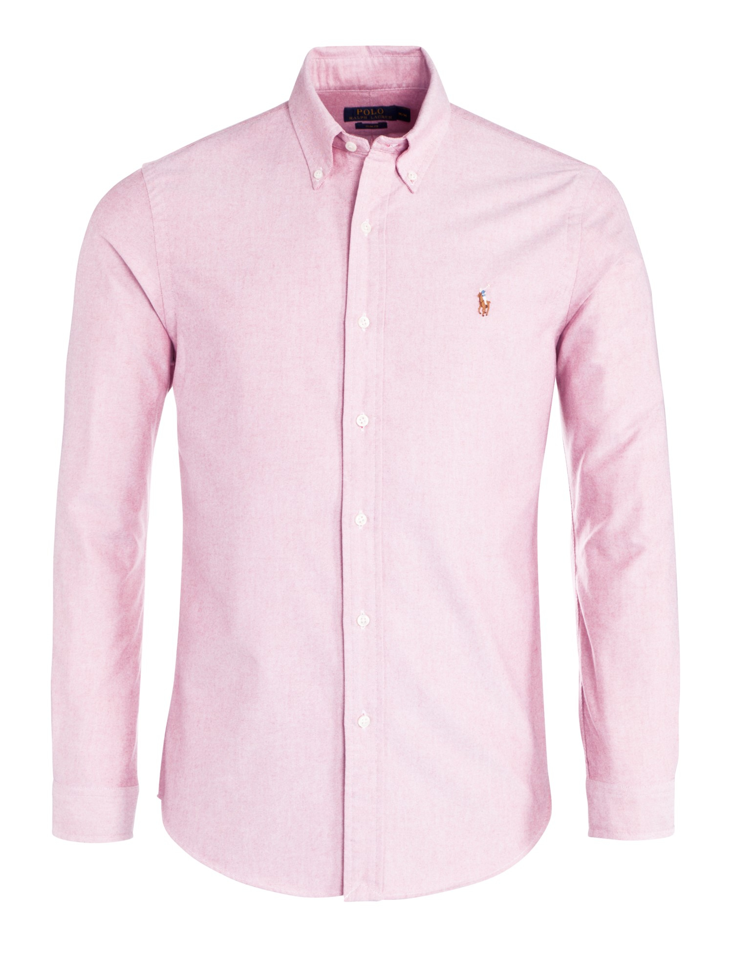 Ralph Lauren Casual Oxford Shirt Custom Fit in Pink
